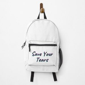 The Weeknd Save Your Tears Backpack RB3006 product Offical Mac Miller Merch