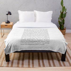 Wanderlust - The Weeknd Throw Blanket RB3006 product Offical Mac Miller Merch