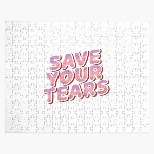 Copy of Save your tears stickers pack Jigsaw Puzzle RB3006 product Offical Mac Miller Merch