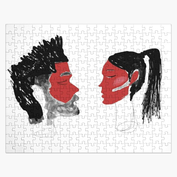 The Weeknd and Bella Hadid Jigsaw Puzzle RB3006 product Offical Mac Miller Merch