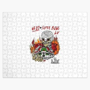 The Weeknd Super Bowl LV Halftime Show Art Jigsaw Puzzle RB3006 product Offical Mac Miller Merch