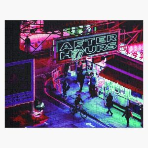 night after hours Jigsaw Puzzle RB3006 product Offical Mac Miller Merch