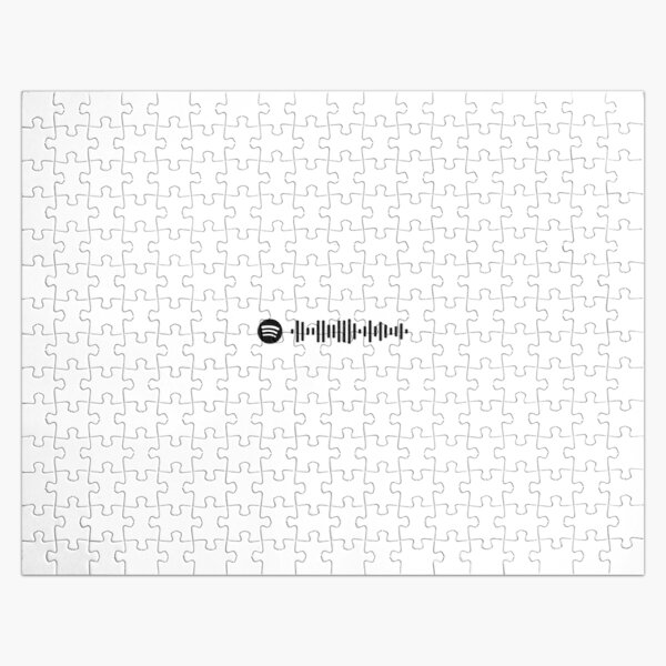 Blinding Lights - The Weeknd (Spotify Code) Jigsaw Puzzle RB3006 product Offical Mac Miller Merch