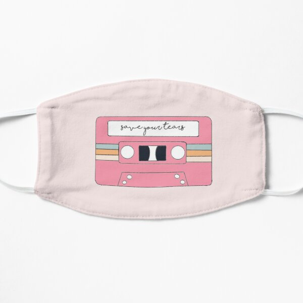 The Weeknd & Ariana Grande – Save Your Tears Flat Mask RB3006 product Offical Mac Miller Merch