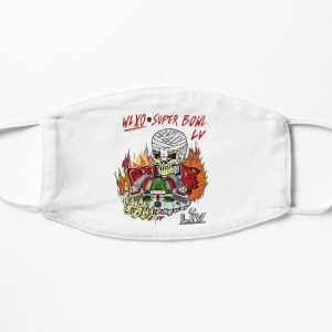 The Weeknd Super Bowl LV Halftime Show Art Flat Mask RB3006 product Offical Mac Miller Merch