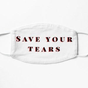Save your tears The weeknd Flat Mask RB3006 product Offical Mac Miller Merch