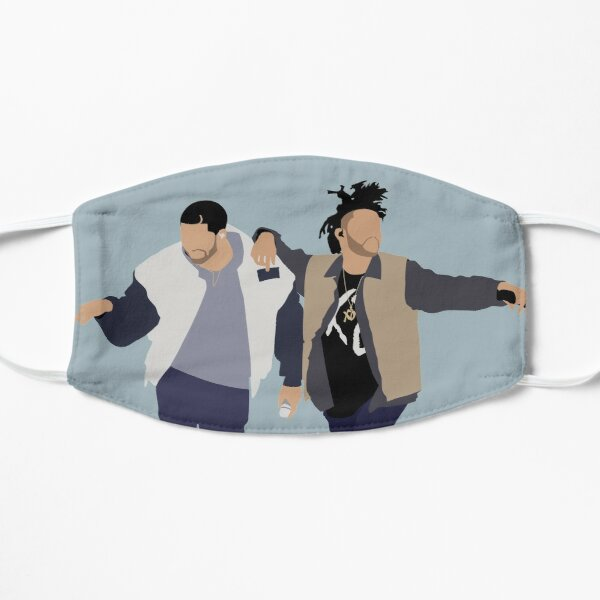Drake + The Weeknd Flat Mask RB3006 product Offical Mac Miller Merch