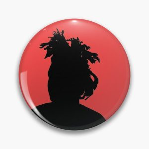 the weeknd silhouette Pin RB3006 product Offical Mac Miller Merch