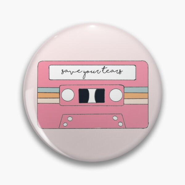 The Weeknd & Ariana Grande – Save Your Tears Pin RB3006 product Offical Mac Miller Merch