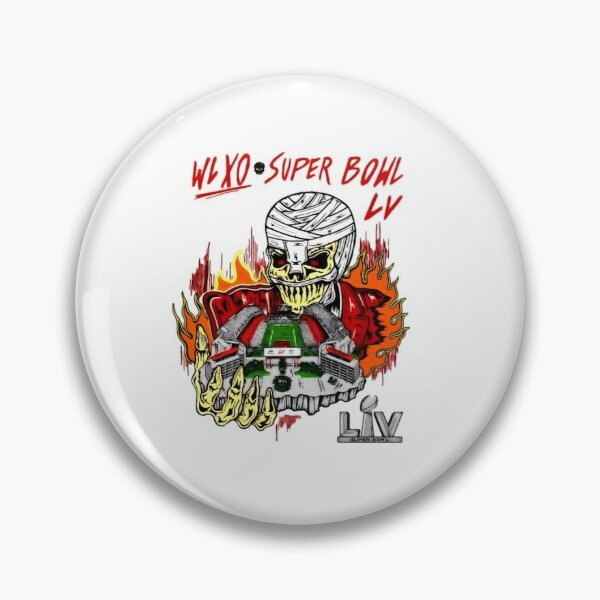 The Weeknd Super Bowl LV Halftime Show Art Pin RB3006 product Offical Mac Miller Merch