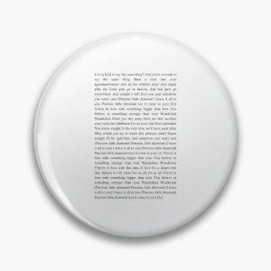 Wanderlust - The Weeknd Pin RB3006 product Offical Mac Miller Merch