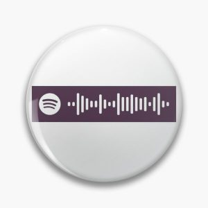 Blinding Lights by The Weeknd Spotify Code Pin RB3006 product Offical Mac Miller Merch