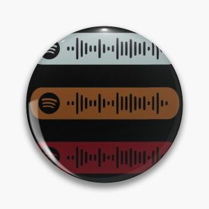 Blinding Lights by The Weeknd Spotify Scan Sticker Pack Pin RB3006 product Offical Mac Miller Merch