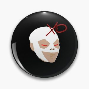 The Weeknd Mask Pin RB3006 product Offical Mac Miller Merch