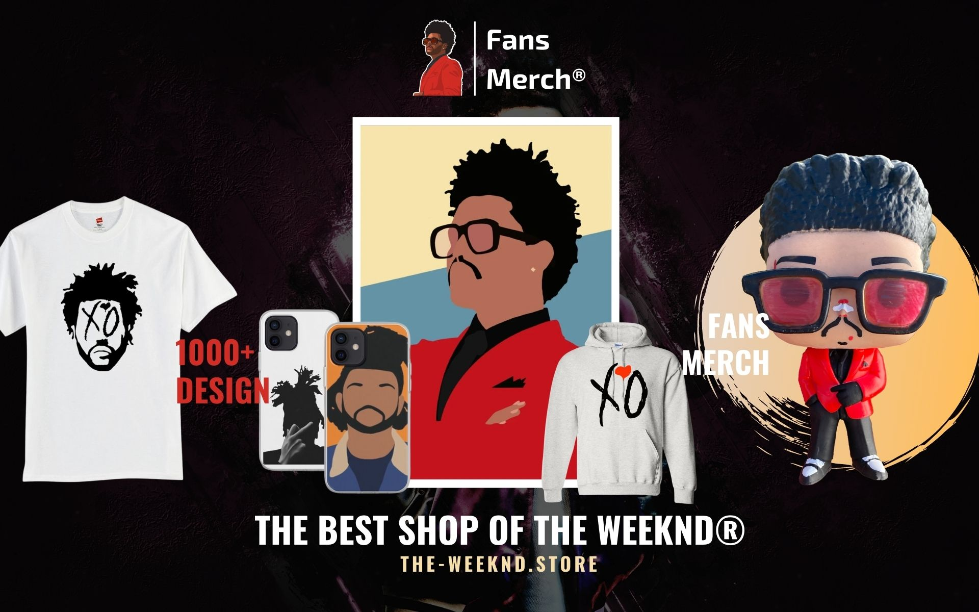 The Weeknd Merch Web Banner - The Weeknd Store